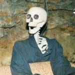 Britannia Mine Halloween Skeleton