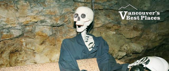 Britannia Mine Halloween Skeleton