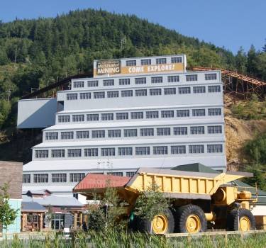 Britannia Mine's Mill No. 3