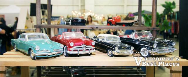 Cars Display at Olde Farmhouse Market