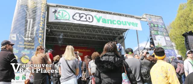 Main Stage at 420 Vancouver