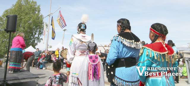Indigenous Cultural Event at the Cannery