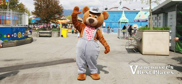 PNE Mascot at Playland