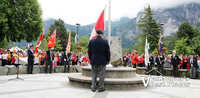 Canada Day Ceremony in Squamish