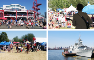 Lower Lonsdale on Canada Day
