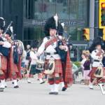 Pipe Band in North Vancouver Parade