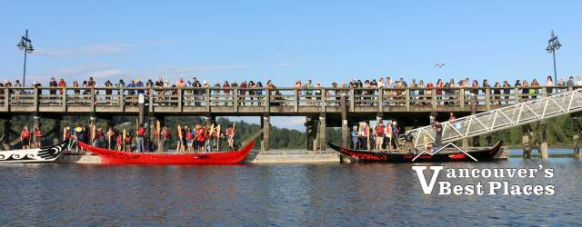 Port Moody Pier on Indigenous Peoples Day