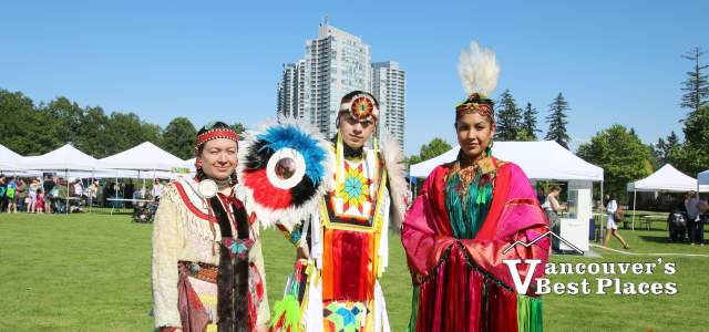 The Wild Moccasin Dancers in Surrey