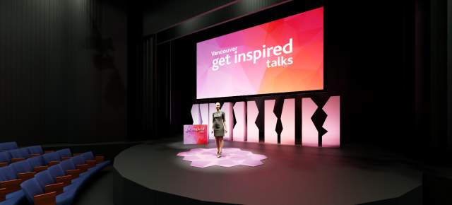 Vancouver Get Inspired Talks Stage