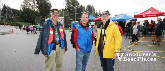 North Vancouver Rotarians at Work
