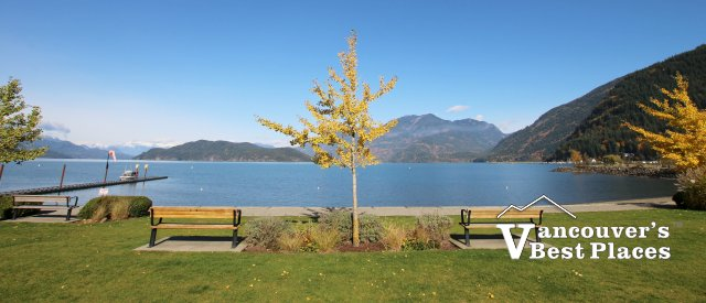 Harrison Lake in Autumn