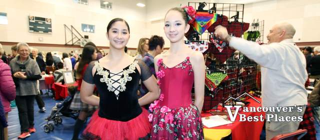 Bloch Ballet Dancers at STA School