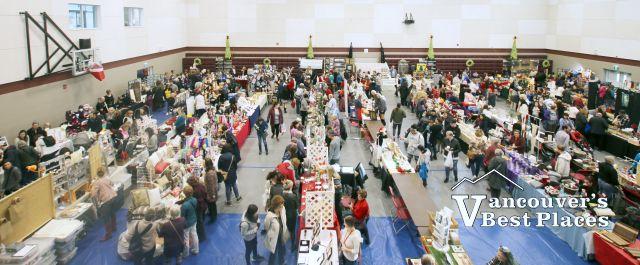 Christmas Craft Fair in STA School Gym