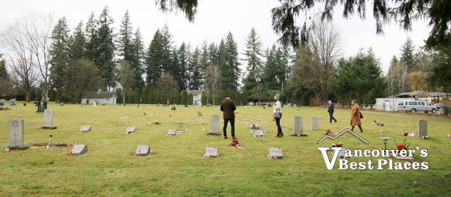 Remembrance Day in Fort Langley
