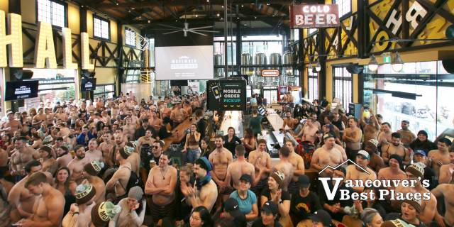Movember Undie Event at the Brewhall
