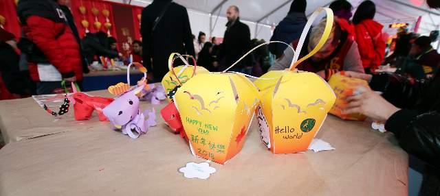 Lunarfest Crafts and Lanterns