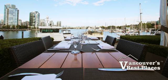 Dockside Restaurant on Granville Island