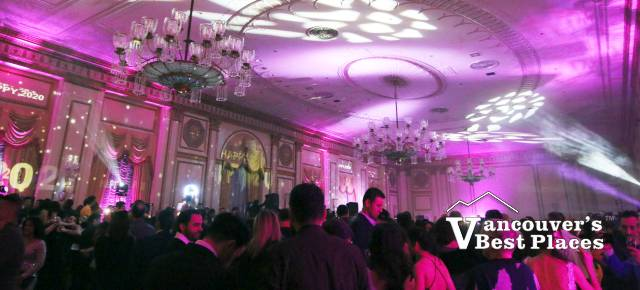 Fairmont Vancouver Hotel Ballroom