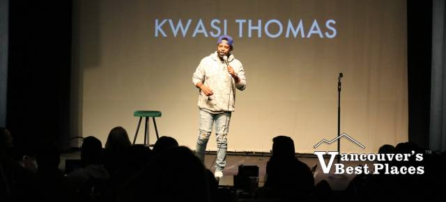 Comedian Kwasi Thomas