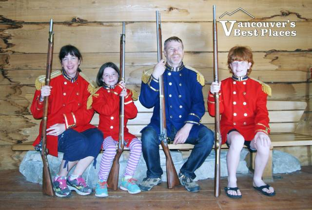 Family Photo at Fort Langley