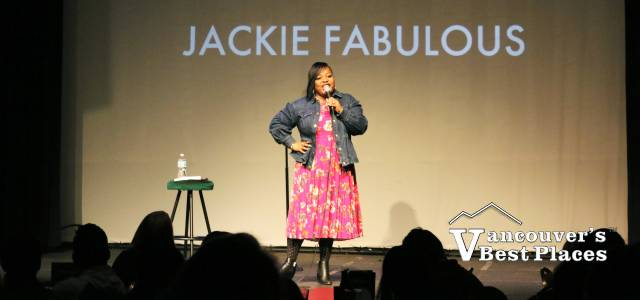 Jackie Fabulous at Rick Bronson's Comedy Club