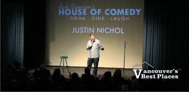 Justin Nichol at House of Comedy