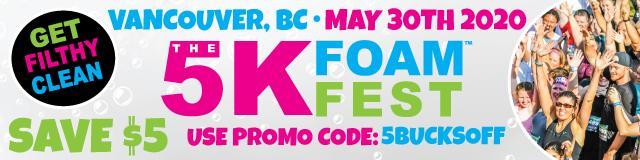 Vancouver 5K Foam Fest