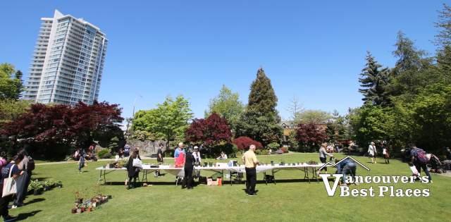 Spring Bazaar in the Nikkei Garden
