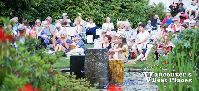 Concert Audience at Glades Garden