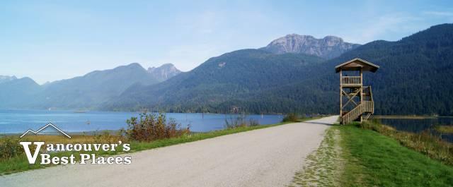 Pitt Lake Gravel Road
