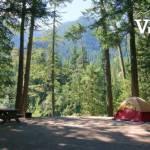 Campsite at Nairn Falls