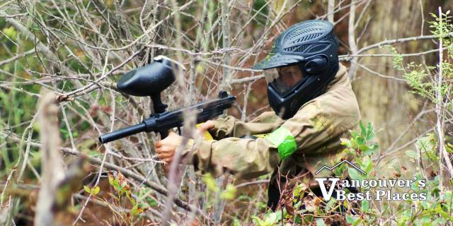 Paintball in the Lower Mainland