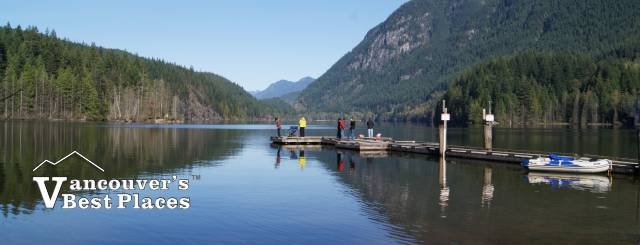 Fishing at Buntzen Lake