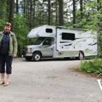 Campsite #31 at Nairn Falls
