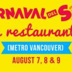 Carnaval del Sol 2020 Restaurant Events