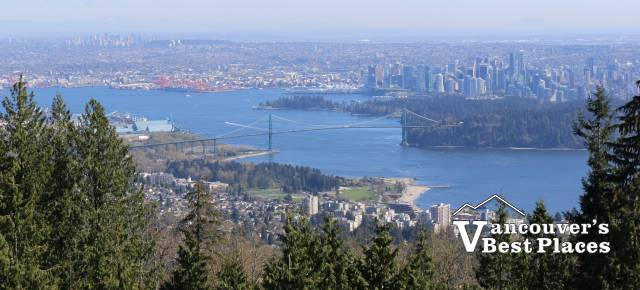 Lower Mainland View from Cypress Lookout