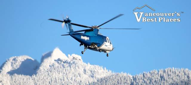 Helijet on Vancouver's North Shore