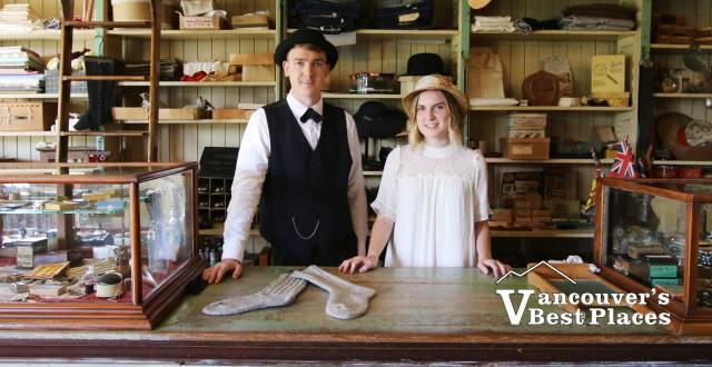 Interpreters at Kilby Historic Site