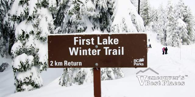 Mt. Seymour First Lake Showshoe Trail