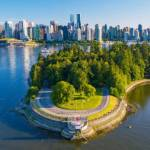 Stanley Park Lighthouse (by On the Mark Drone Services)