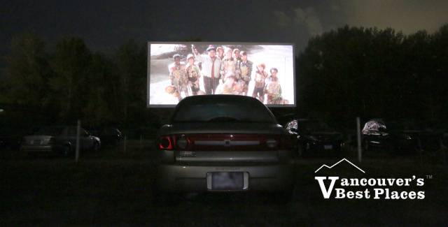 Movie at Twilight Drive-In