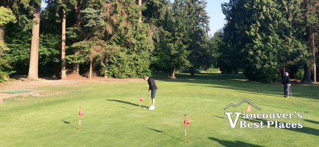 Murdo Fraser Pitch and Putt Golf