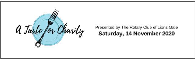 A Taste for Charity Fundraising Dinner