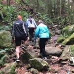 Hiking at Cypress Falls Park