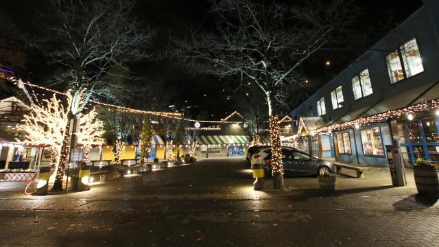 Holiday Lights at Granville Island