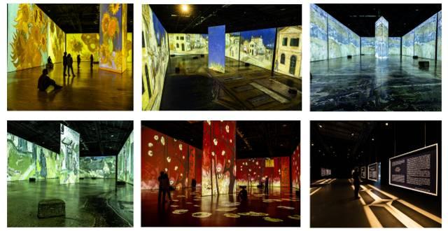 Imagine Van Gogh Exhibition Paintings