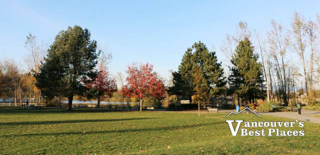 Mill Lake Park in Fall