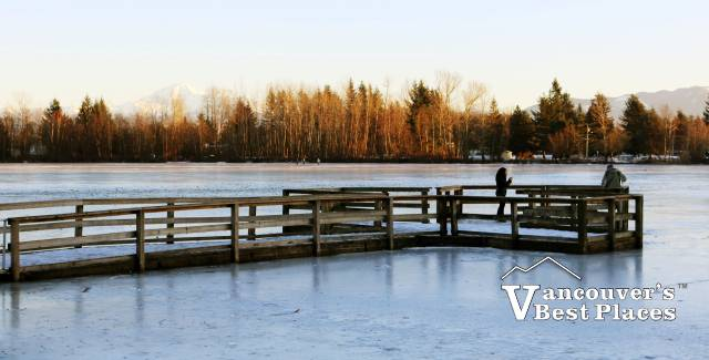 Abbotsford's Mill Lake in Winter