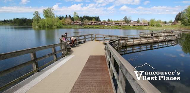 The Boardwalk at Abbotsford's Mill Lake