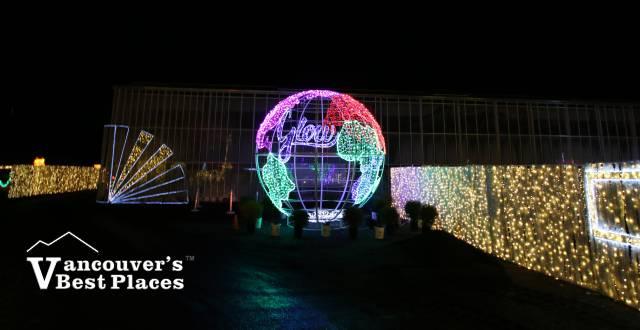 Glow Christmas Globe Light Display